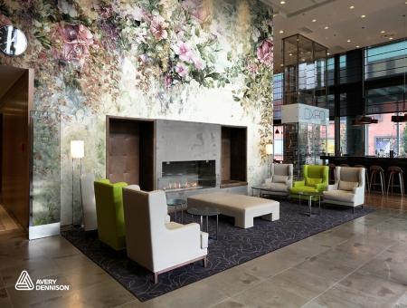 Avery Dennison® MPI 8726 Textured Wall Film Canvas