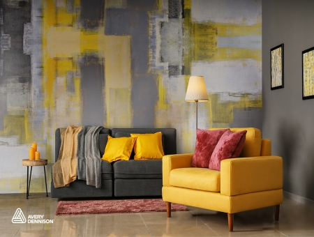 Avery Dennison® MPI 8826 Textured Wall Film Textile