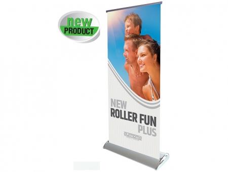Roll Up Monofacciale con Due Piedi Modello Elite Roller Fun Plus