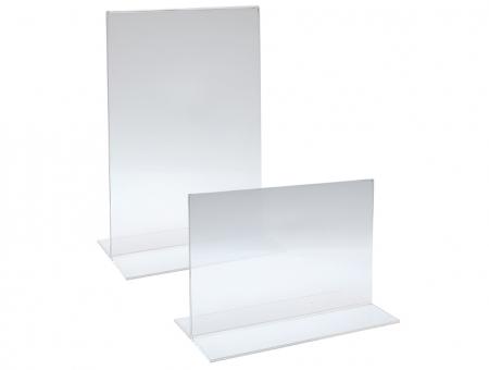 Porta Avvisi in Plexiglass Verticale