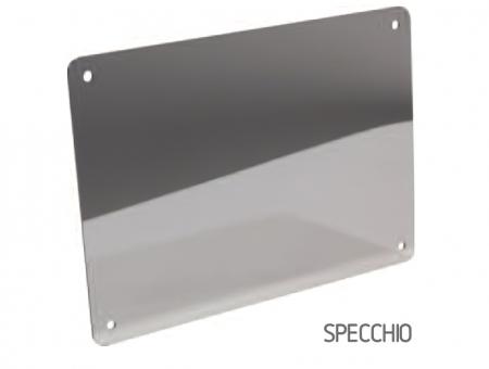 Targa In Eurobond Argento Specchio