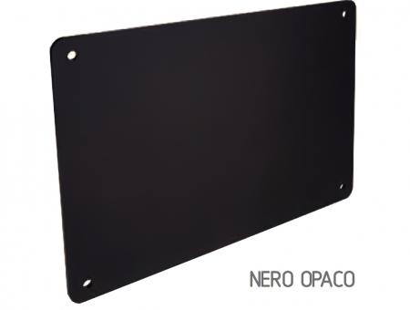Targa In Perspex Nero Opaco
