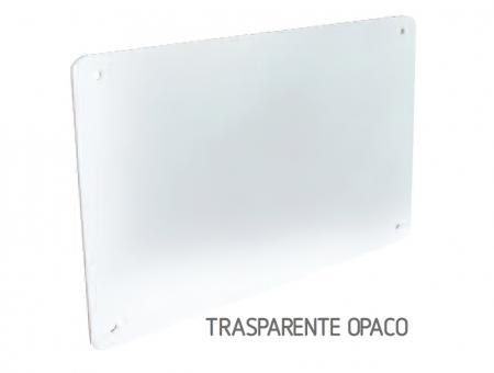Targa In Perspex Trasparente Opaco