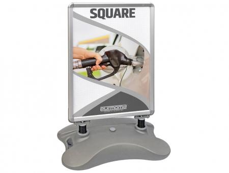 Cavalleto per Esterno con Base Riempibile Modello Square