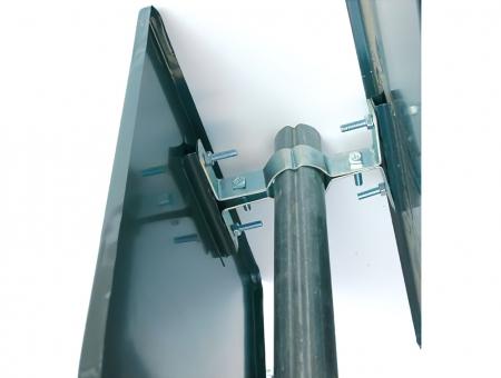 Staffa in Metallo Bifacciale per Semilavorati