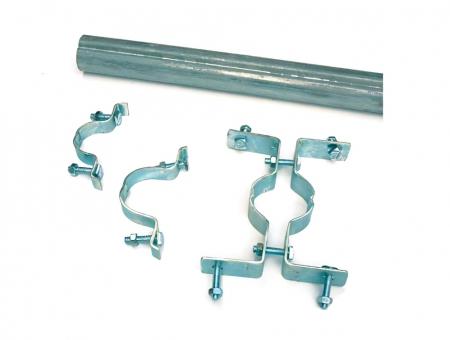 Staffa in Metallo Monofacciale per Semilavorati