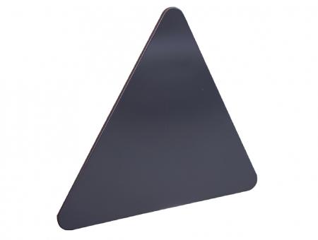 Semilavorato Triangolare in Alluminio per Segnaletica Modello Industry