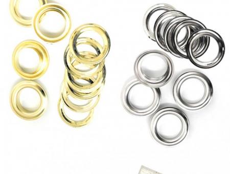 Occhielli Autoperforanti Ø 10 mm in Alluminio per Banner