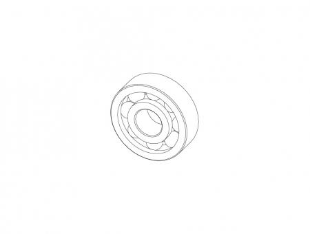 Cuscinetto per Gto  Ø 25 x 8 x Ø 10 mm