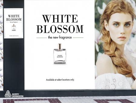 Avery Dennison® MPI 3001 Bianco Lucido Removibile