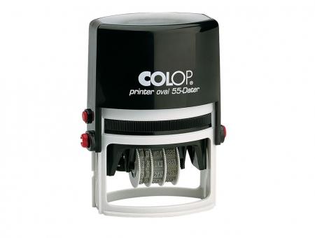 Colop® Printer Datari Ovali Con Piastra