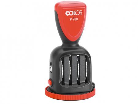 Colop® Datario Con Piastra P 700 Rotondo con 24H