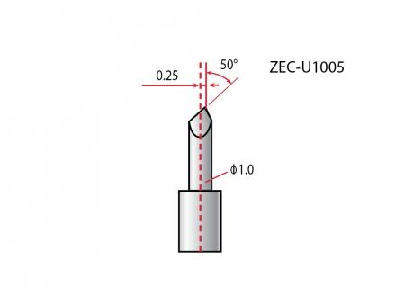 Lame Roland Originali ZEC-U1005 per Vinile Comune