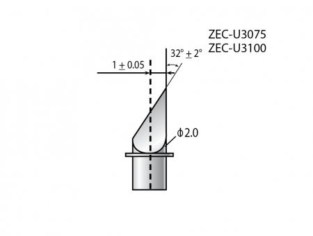 Lame Roland Originali ZEC-U3075 per Cartoncino
