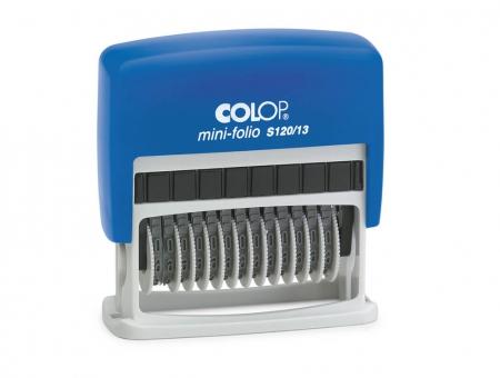 Colop® Mini-Dater S 120/13 Numeratore 13 Cifre