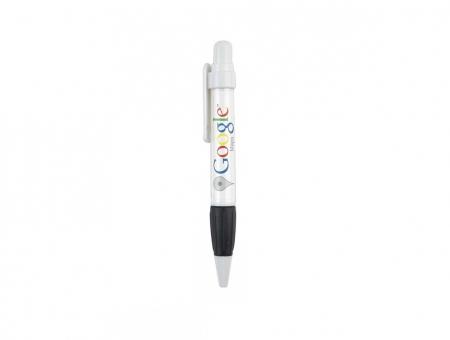 Penna Tonda O-LC-Bi Grafica Rotante Bianco