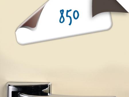 Vinile Magnetico Bianco 850 my Retro Nero