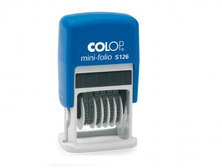 Colop® Mini-Dater S 126 Numeratore