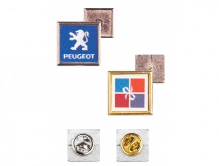 Pin in Metallo 15 X 15 mm