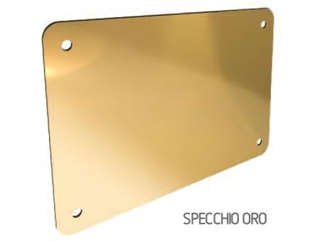 Targa In Eurobond Oro Specchio