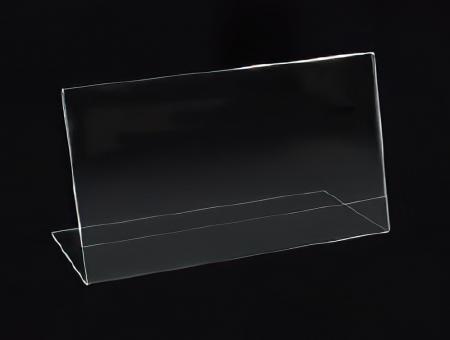 Porta Avvisi in Plexiglass Inclinato Orizzontale